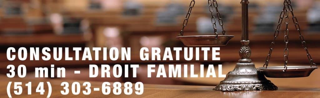 avocat droit familial aide juridique montreal